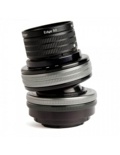 Lensbaby Composer Pro II with Edge 50 SLR Musta, Hopea Lensbaby LBCP2E50M - 1