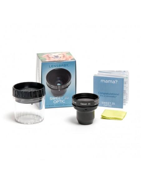 Lensbaby LBO35 kameran objektiivi Musta Lensbaby LBO35 - 3