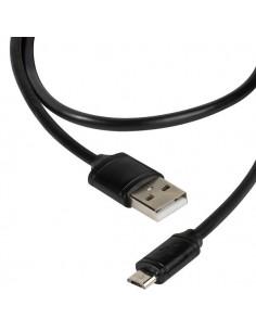 Vivanco DCVVMCUSB12BK USB-kaapeli 1.2 m 2.0 USB A Micro-USB B Musta Vivanco 36251 - 1