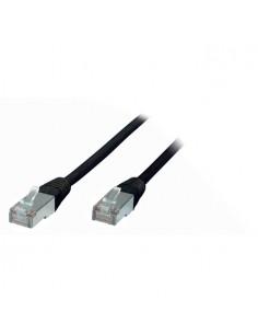 S-Conn RJ45-RJ45, m-m, 0.5m verkkokaapeli 0.5 m Cat5e F/UTP (FTP) Musta No-name 75111-0.5S - 1