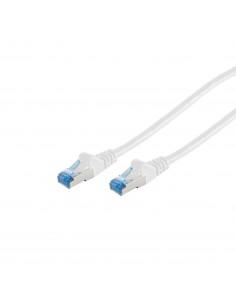 S-Conn 75711-0.25W verkkokaapeli 0.25 m Cat6a S/FTP (S-STP) Valkoinen No-name 75711-0.25W - 1