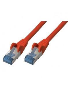 S-Conn Cat6a, 0.5m verkkokaapeli 0,5 m S/FTP (S-STP) Punainen No-name 75711-0.5R - 1