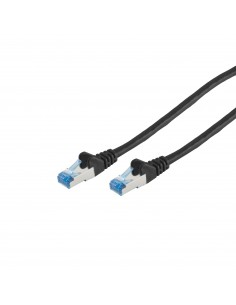 S-Conn 75711-0.5S verkkokaapeli 0.5 m Cat6a S/FTP (S-STP) Musta No-name 75711-0.5S - 1