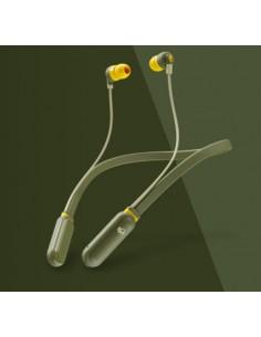Skullcandy 414-059-8313 kuulokkeet ja kuulokemikrofoni In-ear, Niskanauha Oliivi, Keltainen Skullcandy. J S2IQW-M687 - 1