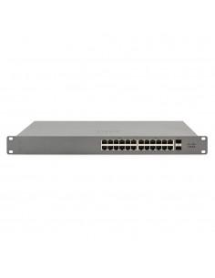 Cisco Meraki GS110 hanterad Gigabit Ethernet (10/100/1000) Strömförsörjning via (PoE) stöd 1U Grå Cisco GS110-24P-HW-EU - 1