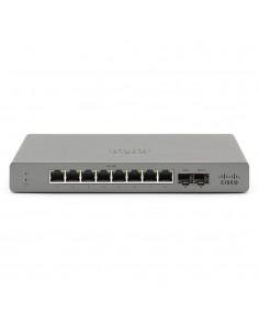 Cisco Meraki GS110 Hallittu Gigabit Ethernet (10/100/1000) Harmaa Cisco GS110-8-HW-EU - 1