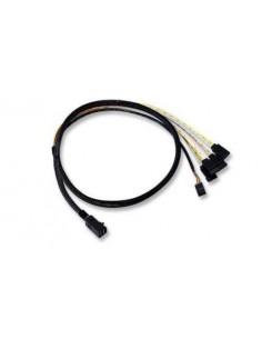 Broadcom L5-00221-00 Serial Attached SCSI (SAS) cable 1 m Black Broadcom L5-00221-00 - 1