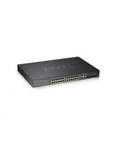 Zyxel GS1920-24HPV2 Hallittu Gigabit Ethernet (10/100/1000) Musta Power over -tuki Zyxel GS192024HPV2-EU0101F - 1