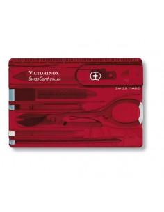 Victorinox SwissCard Classic kauneudenhoito Punainen, Läpinäkyvä ABS-synteettinen Victorinox 0.7100.T - 1