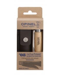 Opinel Pocketknife No. 08 Incl. Etui W. Stl. Steel Edge Opinel 001089 - 1