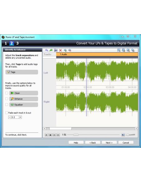 Corel Roxio easy LP to MP3 Corel 243600UK - 4