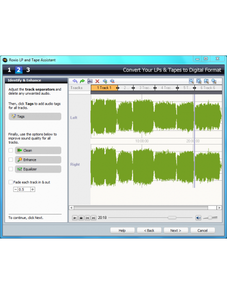 Corel Roxio easy LP to MP3 Corel 243600UK - 5