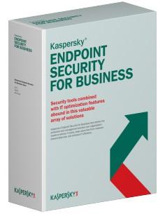 Kaspersky Lab Endpoint Security f/Business - Select, 10-14u, 2Y, EDU RNW Oppilaitoslisenssi (EDU) 2 vuosi/vuosia Kaspersky KL486