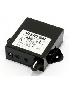 Visaton AMP 2.2 2.0 kanavaa Musta Visaton AMP 2.2 - 1