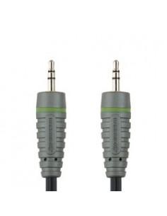 Bandridge BAL3302 audiokaapeli 2 m 3.5mm Musta, Vihreä, Harmaa Bandridge BAL3302 - 1