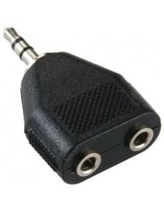 Bandridge BAP424 kaapeli liitäntä / adapteri 3.5mm M 2 x F stereo Musta Bandridge BAP424 - 1