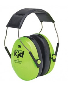 Peltor Earmuffs Kid Kidv 27 Db Neon Green Peltor 7100126271 - 1