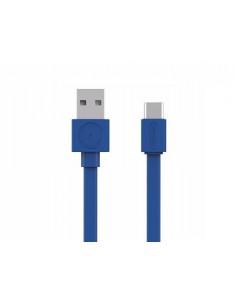Allocacoc 10453BL/USBCBC USB-kaapeli USB A C Sininen Allocacoc 10453BL/USBCBC - 1