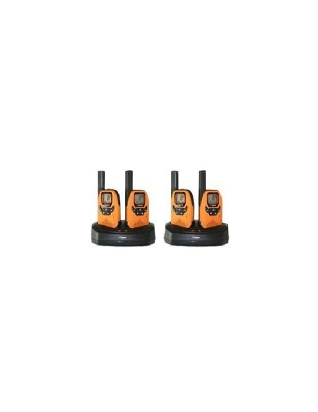 DeTeWe Outdoor 8000 Quad Case radiopuhelin 8 kanavaa Detewe 208048 - 1