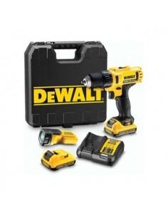 DeWALT DCD710D2F 1500 RPM Avaimeton 1.1 kg Musta, Keltainen Dewalt DCD710D2F-QW - 1
