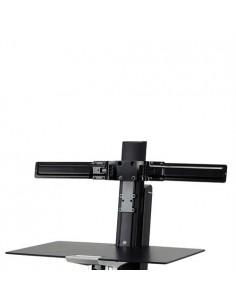 "Ergotron Dual Monitor Double-Hinged Bow 63.5 cm (25"") Musta Ergotron 98-101-009 - 1"
