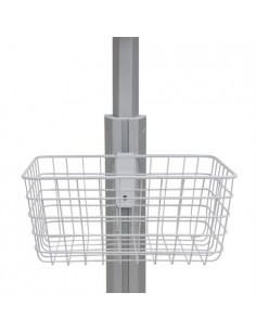 Ergotron 98-136-216 multimedia cart accessory White Basket Ergotron 98-136-216 - 1