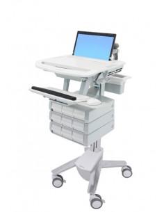 Ergotron StyleView Aluminium, Grey, White Notebook Multimedia cart Ergotron SV43-1190-0 - 1