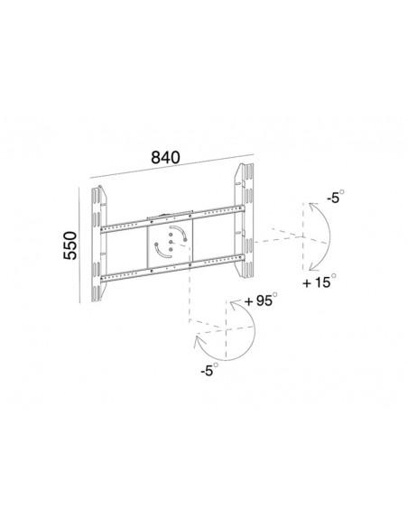 Multibrackets 6993 monitorikiinnikkeen lisävaruste Multibrackets 7350022736993 - 8