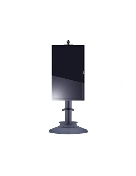 Multibrackets 7 350 073 730 667 Musta Litteä paneeli Multimediakärry Multibrackets 7350073730667 - 3