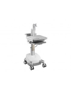 Multibrackets M Universal Workstation Cart DT with Batterypack Multibrackets 7350073730964 - 1