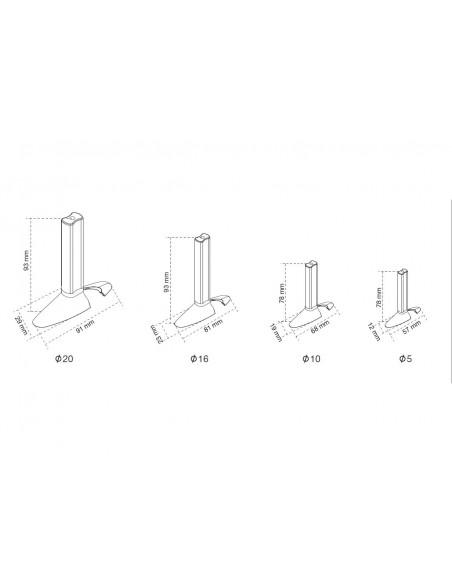Multibrackets M Cable Sock Quicktool Multibrackets 7350073734689 - 3
