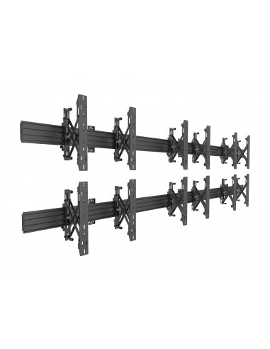 Multibrackets M Wallmount Pro MBW3x2U Push In Pop Out Black Multibrackets 7350073735006 - 1