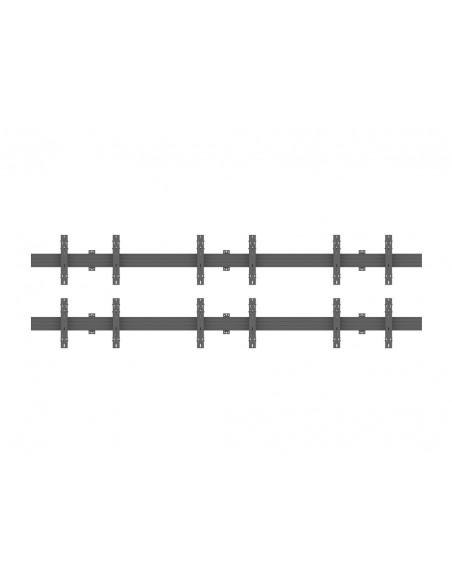 """Multibrackets 5006 kyltin näyttökiinnike 165.1 cm (65"""") Musta Multibrackets 7350073735006 - 2"""