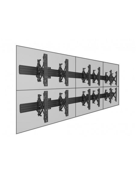 """Multibrackets 5006 kyltin näyttökiinnike 165.1 cm (65"""") Musta Multibrackets 7350073735006 - 12"""