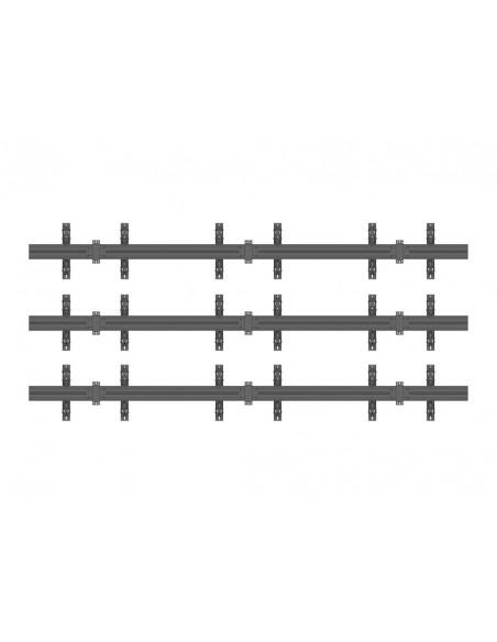 """Multibrackets 5013 fäste för skyltningsskärm 165.1 cm (65"""") Svart Multibrackets 7350073735013 - 4"""