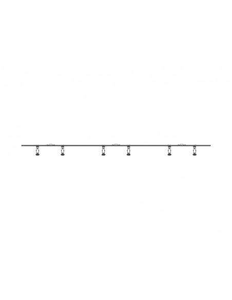"""Multibrackets 5013 kyltin näyttökiinnike 165.1 cm (65"""") Musta Multibrackets 7350073735013 - 6"""