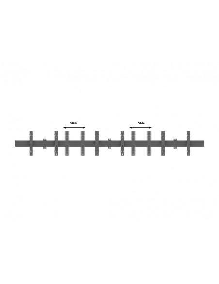 Multibrackets M Wallmount Pro MBW3x3U Push In Pop Out Black Multibrackets 7350073735013 - 8