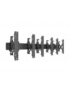 Multibrackets M Wallmount Pro MBW3x1UP Push In Pop Out Black Multibrackets 7350073735037 - 1