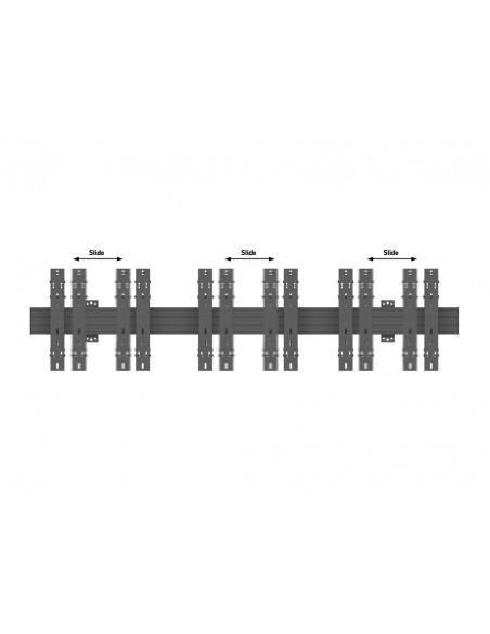"""Multibrackets 5037 kyltin näyttökiinnike 139.7 cm (55"""") Musta Multibrackets 7350073735037 - 8"""