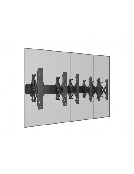 """Multibrackets 5037 kyltin näyttökiinnike 139.7 cm (55"""") Musta Multibrackets 7350073735037 - 12"""
