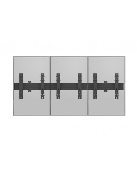"""Multibrackets 5037 fäste för skyltningsskärm 139.7 cm (55"""") Svart Multibrackets 7350073735037 - 13"""