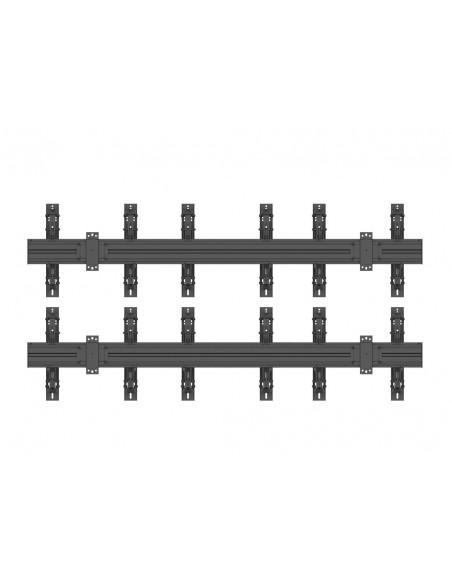"""Multibrackets 5044 kyltin näyttökiinnike 139.7 cm (55"""") Musta Multibrackets 7350073735044 - 4"""