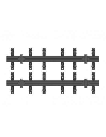 Multibrackets M Wallmount Pro MBW3x2UP Push In Pop Out Black Multibrackets 7350073735044 - 4