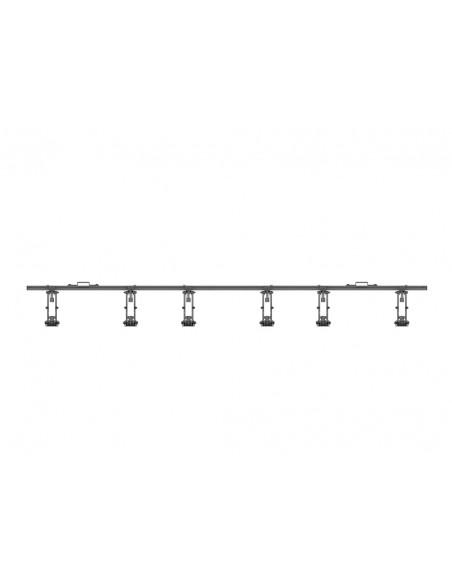 """Multibrackets 5044 fäste för skyltningsskärm 139.7 cm (55"""") Svart Multibrackets 7350073735044 - 6"""