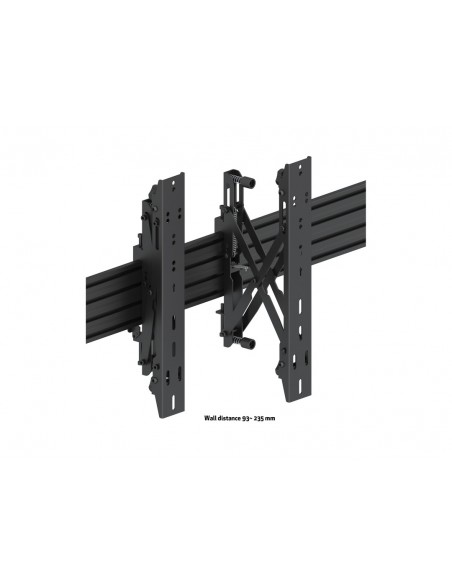 Multibrackets M Wallmount Pro MBW3x2UP Push In Pop Out Black Multibrackets 7350073735044 - 10