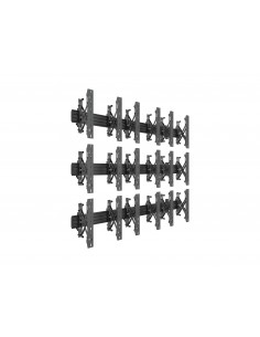 Multibrackets M Wallmount Pro MBW3x3UP Push In Pop Out Black Multibrackets 7350073735051 - 1