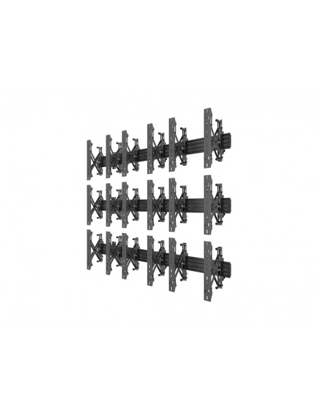 Multibrackets M Wallmount Pro MBW3x3UP Push In Pop Out Black Multibrackets 7350073735051 - 3