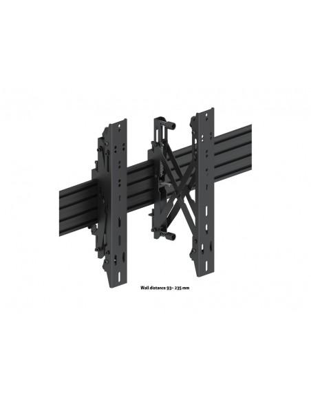 """Multibrackets 5051 kyltin näyttökiinnike 139.7 cm (55"""") Musta Multibrackets 7350073735051 - 10"""