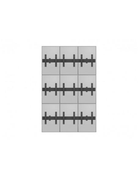 """Multibrackets 5051 fäste för skyltningsskärm 139.7 cm (55"""") Svart Multibrackets 7350073735051 - 13"""