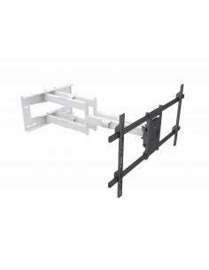"""Multibrackets 6881 TV-kiinnike 2.29 m (90"""") Musta, Valkoinen Multibrackets 7350073736881 - 1"""